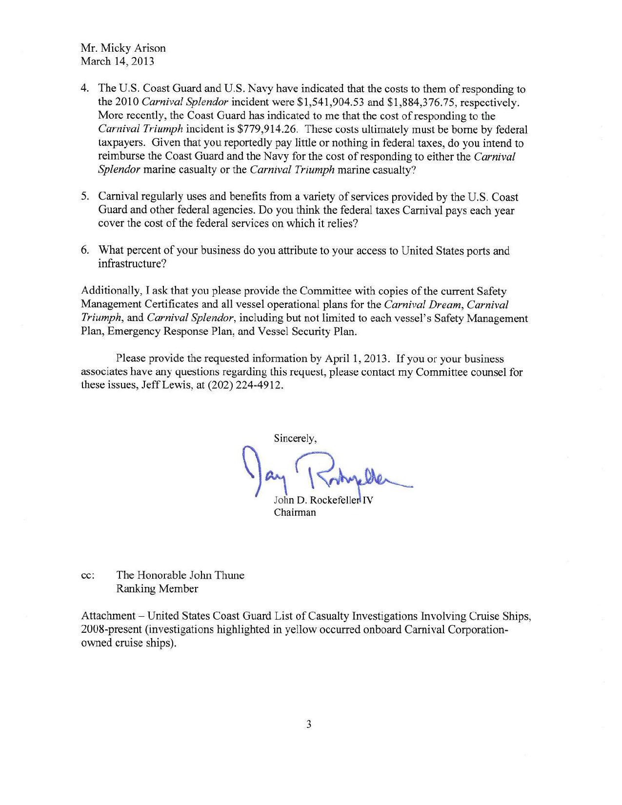 Letter to Carnival Micky Arison from Senator John Rockefeller IV_Page_3.jpg